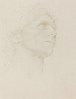 Study of Woman's Head, Turned Right