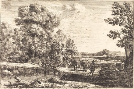 Rebecca and Eliezer (Le pont de bois)