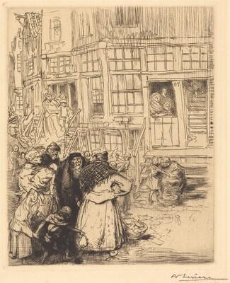 Jewish Quarters in Amsterdam