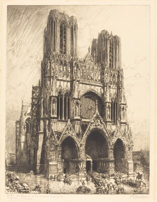 Reims Cathedral (Cathedrale de Reims)