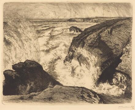 Spring Tide, Rocks of Zion (Grande maree, rochers de Sion, Vendee)