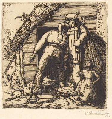 The Poulterer, Vendee (Le Poulailler, Vendee)