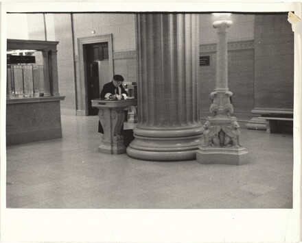 Bank interior--Chicago