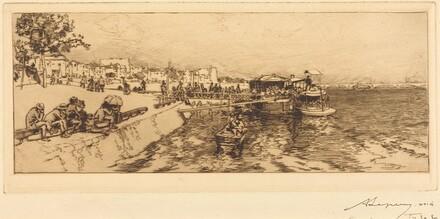 Pier of Bercy (Embarcadere, quai de Bercy)