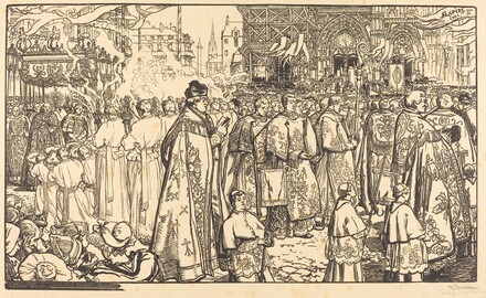 Corpus Christi Procession at Nantes (Procession de la Fete Dieu a Nantes)