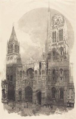 Rouen Cathedral (La Cathedral de Rouen)