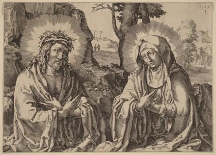 The Savior and the Virgin
