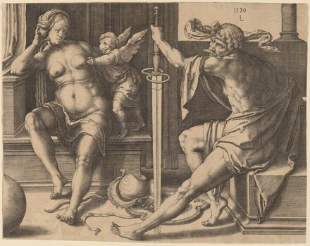 Mars, Venus, and Cupid