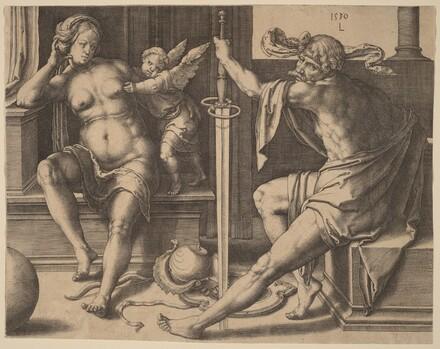Mars, Venus, and Cupid