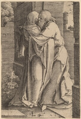 Saint Joachim Embracing Saint Anna