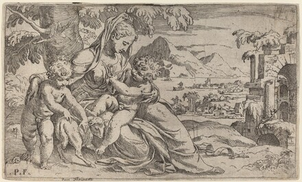 Madonna and Child with John the Baptist