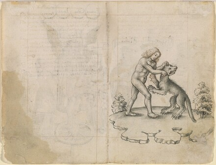 I Am Holding a Wolf by the Ears (verso)