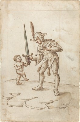 Turn aside the Sharp Sword [fol. 44 recto]