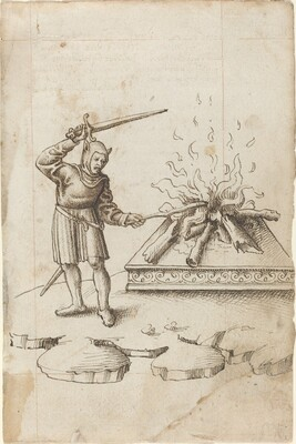 Do Not Poke the Fire with a Sword [fol. 20 recto]