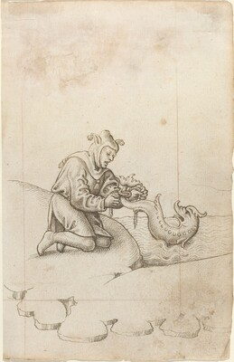 You Are Tying a Dolphin by the Tail [fol. 17 recto]