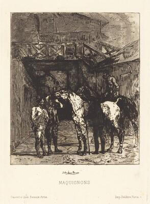 Maquignons (Horse Dealers)
