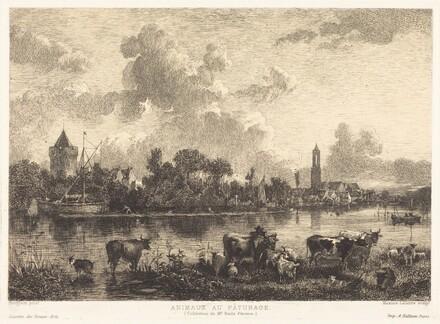 Animaux au Pâturage (Animals at Pasture)