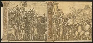 The Triumph of Julius Caesar [no.3 and 4 plus 2 columns]