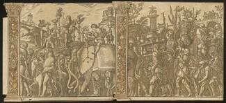 The Triumph of Julius Caesar [no.5 and 6 plus 2 columns]