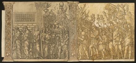 The Triumph of Julius Caesar [no.7 and 8 plus 2 columns]