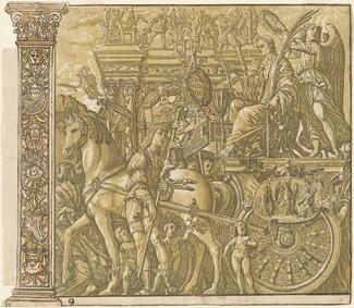 The Triumph of Julius Caesar [no.9 plus 2 columns]