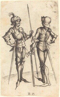Two Men in Armour