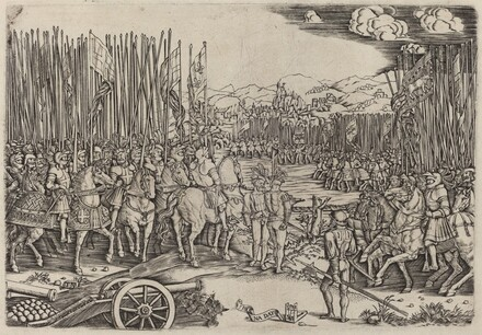 The Two Armies at the Battle of Ravenna
