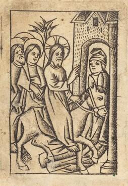 Christ's Entry into Jerusalem [left]