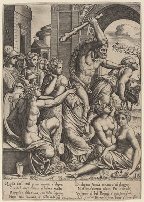 Envy Driven from the Temple of the Muses
