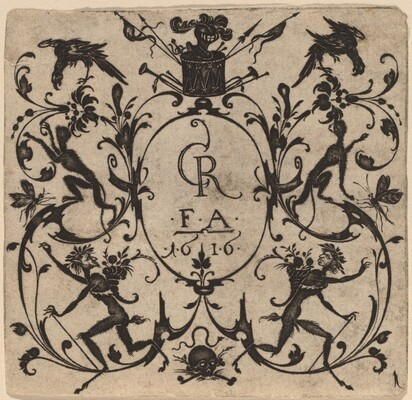 Ornament with Grotesque