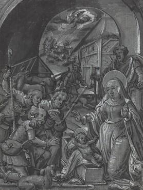 The Birth of Christ [verso]