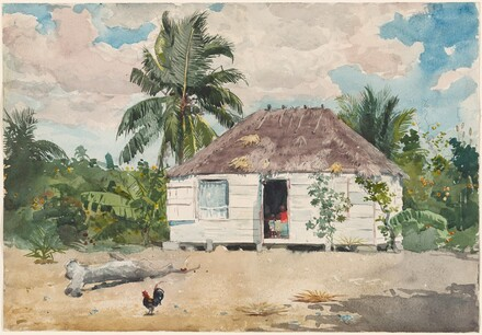 Native hut at Nassau