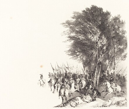 Lanciers en Marche (Lancers on the March)