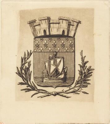 Armes symboliques de la ville de Paris (Symbolical Arms of the City of Paris)