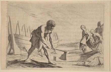 Ulysses on the Island of the Goddess Calypso