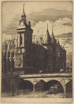 La Tour de l'Horloge, Paris (The Clock Tower, Paris)