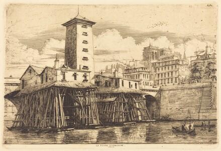 La Pompe Notre-Dame, Paris (The Notre-Dame Pump)