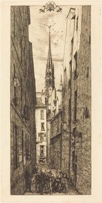 La Rue des Chantres, Paris (Chantrey Street, Paris)