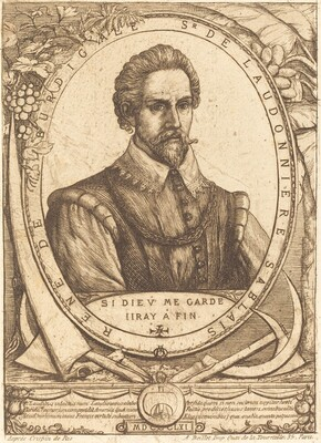René Laudonnière Sablais (De Burdigale)