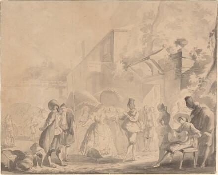 Dance in a Village Square