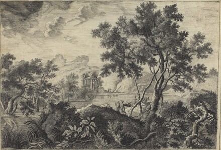 Classical Landscape with a Tempietto