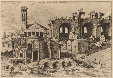 The Temple of Augustus and Faustina, the Temple of Divus Romulus, and the Basilica of Constantine