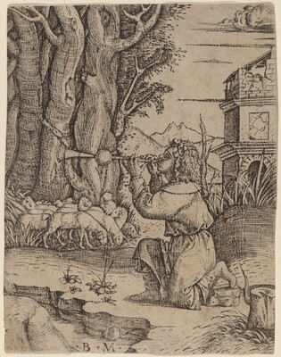 Shepherd with a Platerspiel