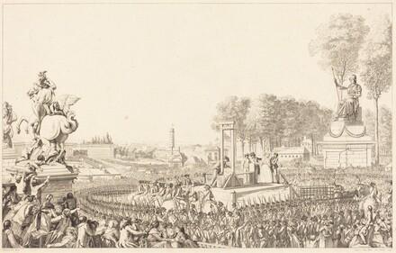 Journee du 16 octobre 1793, la morte de Marie-Antoinette