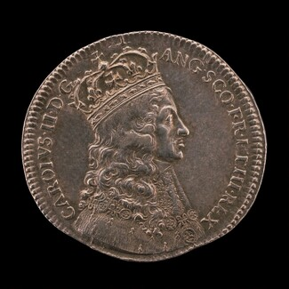 King Charles II in Coronation Robes [obverse]