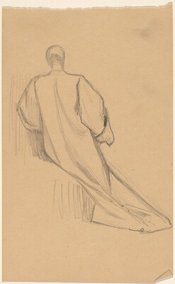 Study of a Figure from Behind