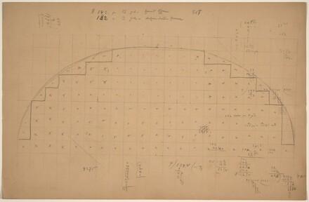 Diagram of a Lunette [verso]