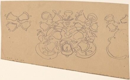 Study for a Border Design [verso]