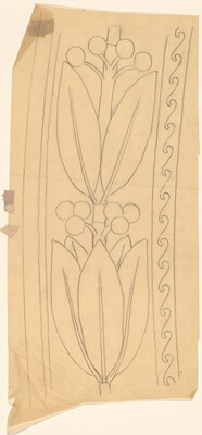 Tracing of a Border Design