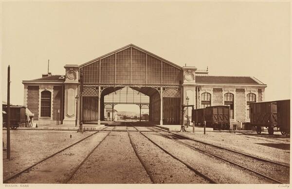 Toulon, Gare (Toulon, Train Station)